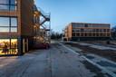 De 300 tijdelijke studentenwoningen in Eindhoven wordn in gebruik genomen.