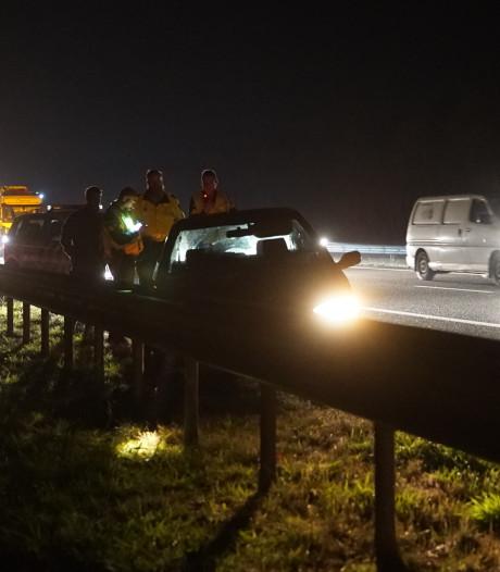 Ongeval op A1 van Hengelo naar Apeldoorn; de file lost op