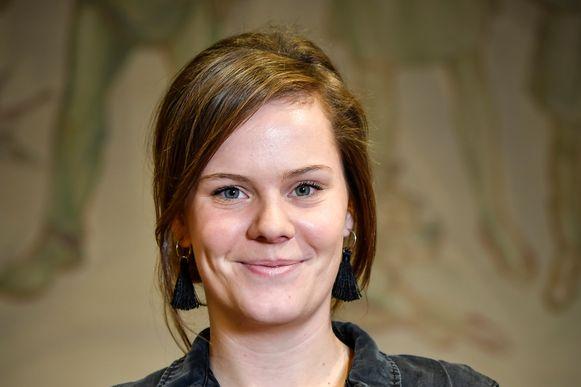 Lotte Peeters verzamelde 9.148  voorkeurstemmen achter haar naam.
