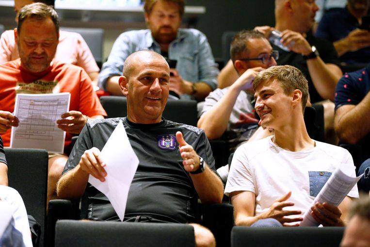 Simon Davies en Pieter Gerkens.