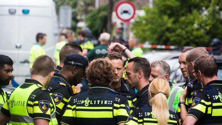 Het afgelopen jaar nam de instroom van mensen met een niet-westerse migratieachtergrond op de Politieacademie een enorme vlucht Beeld Maarten Brante