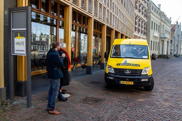De Centrumbus van Deventer stopt tijdelijk met de diensten.