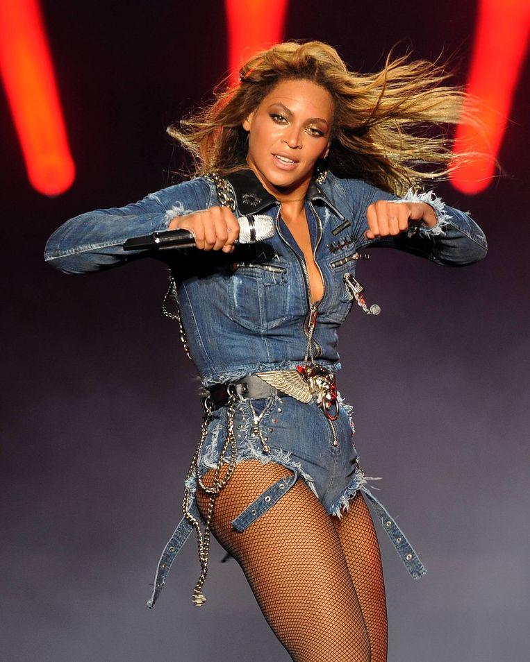 En Beyoncé het liefst ook niet. Beeld ap