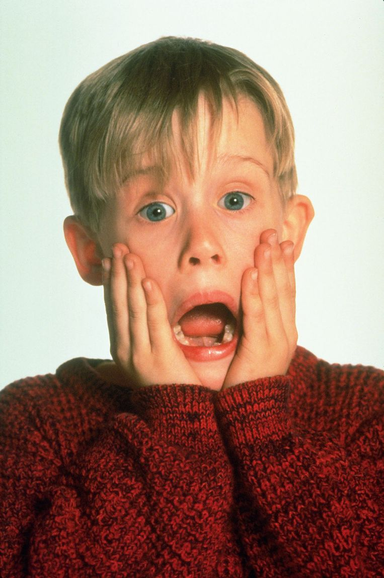 Macaulay Culkin, hoofdrolspeler in Home Alone. Beeld ANP Kippa