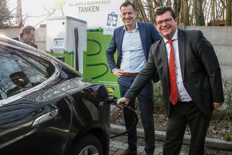 Gratis Uw Elektrische Wagen Opladen Bij Lidl Hamme Regio Hln