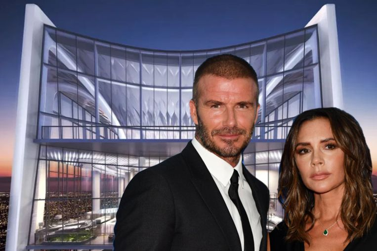David en Victoria Beckham voor hun nieuwe penthouse