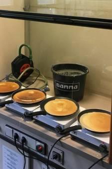 Pannenkoekje uit de zuurkast bij TU Delft. Gewoon, omdat het kan