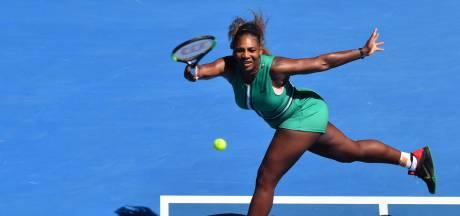'Beuker' Serena Williams, of toch de touch van Steffi Graf?