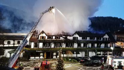Een van de beste restaurants van Duitsland brandt tot de grond af