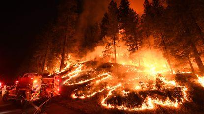 Natuurbranden in Californië woeden verder en eisen zevende slachtoffer