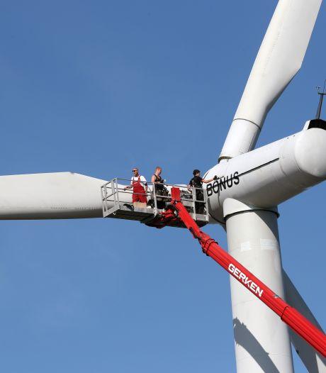 Turbines komen pas in 2023 bij strand Hellevoetsluis