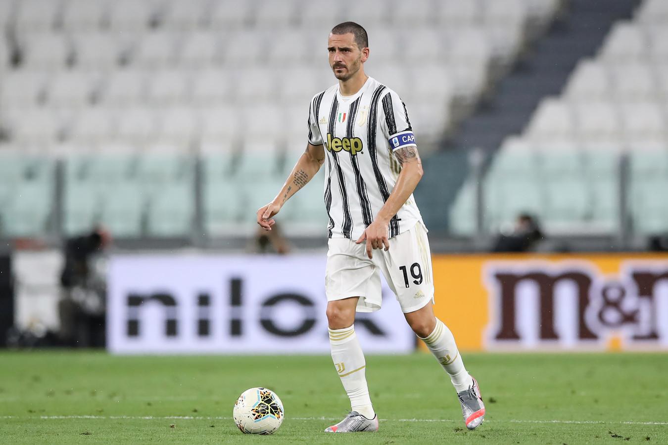 De Italiaanse topscorer bij Juventus: Leonardo Bonucci.
