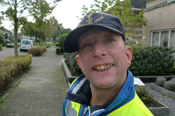 Danny van het buurtpreventieteam Sterrebos in Roosendaal