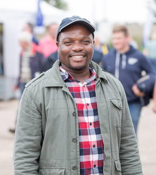 Belisário Tomé Moiane uit Mozambique