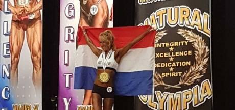 Bodybuildster Willie Heuser (62) uit Dordrecht drie keer op het podium in Las Vegas