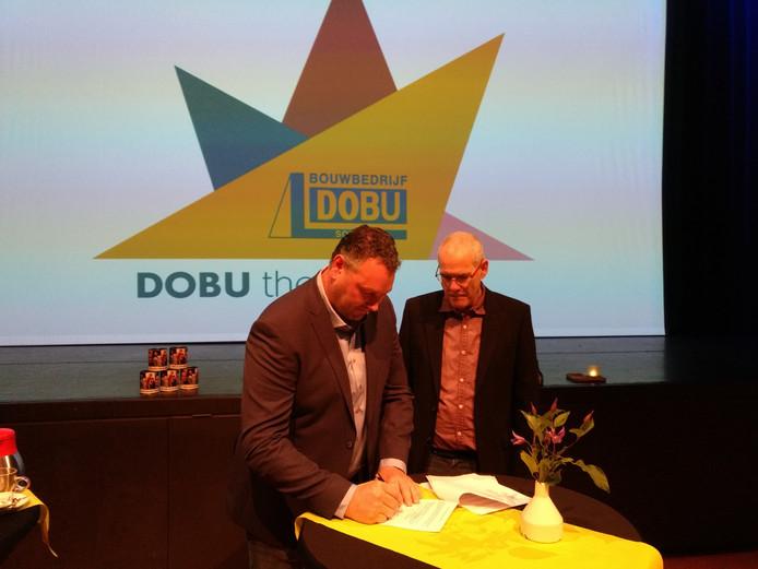 Roland van Bussel en Gerard Koolen.