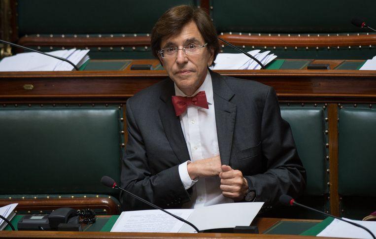 De Belgische premier Elio Di Rupo. Beeld belga