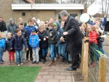 School De Steenenkamer heeft nieuw schoolplein