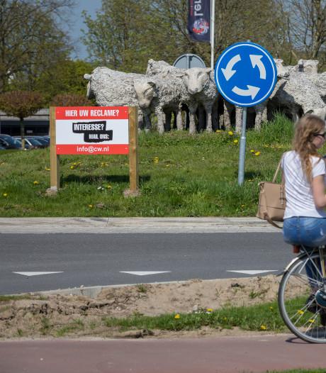 Zo 'ordinair' was reclame op rotondes in gemeente Zaltbommel niet bedoeld