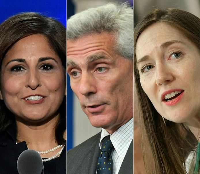 Enkele leden van Bidens nieuwe financieel-economische kader: Neera Tanden, voormalig president van het Center for American Progress Action Fund, Jared Bernstein, oud hoofdeconoom en economisch adviseur van Biden toen hij vicepresident was en Heather Boushey, voormalig senior beleidsmedewerker van het Center for American Progress.