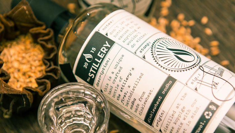 Spelt Vodka van de Stillery Beeld -