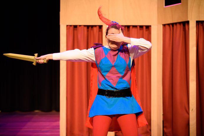 Een kindervoorstelling in Theater Concordia.