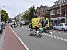 Fietser op e-bike en voetganger gewond na botsing in Voorburg