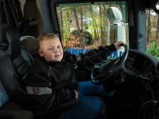 Dick (9) uit 't Loo bovenaan Viral 50 met truckerslied