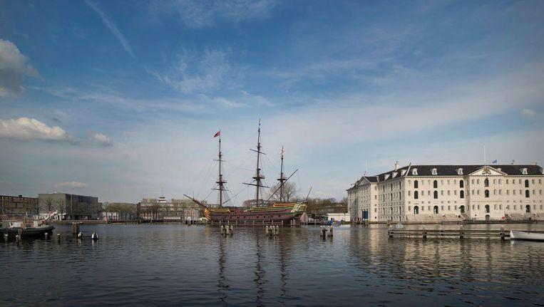 null Beeld Scheepvaartmuseum