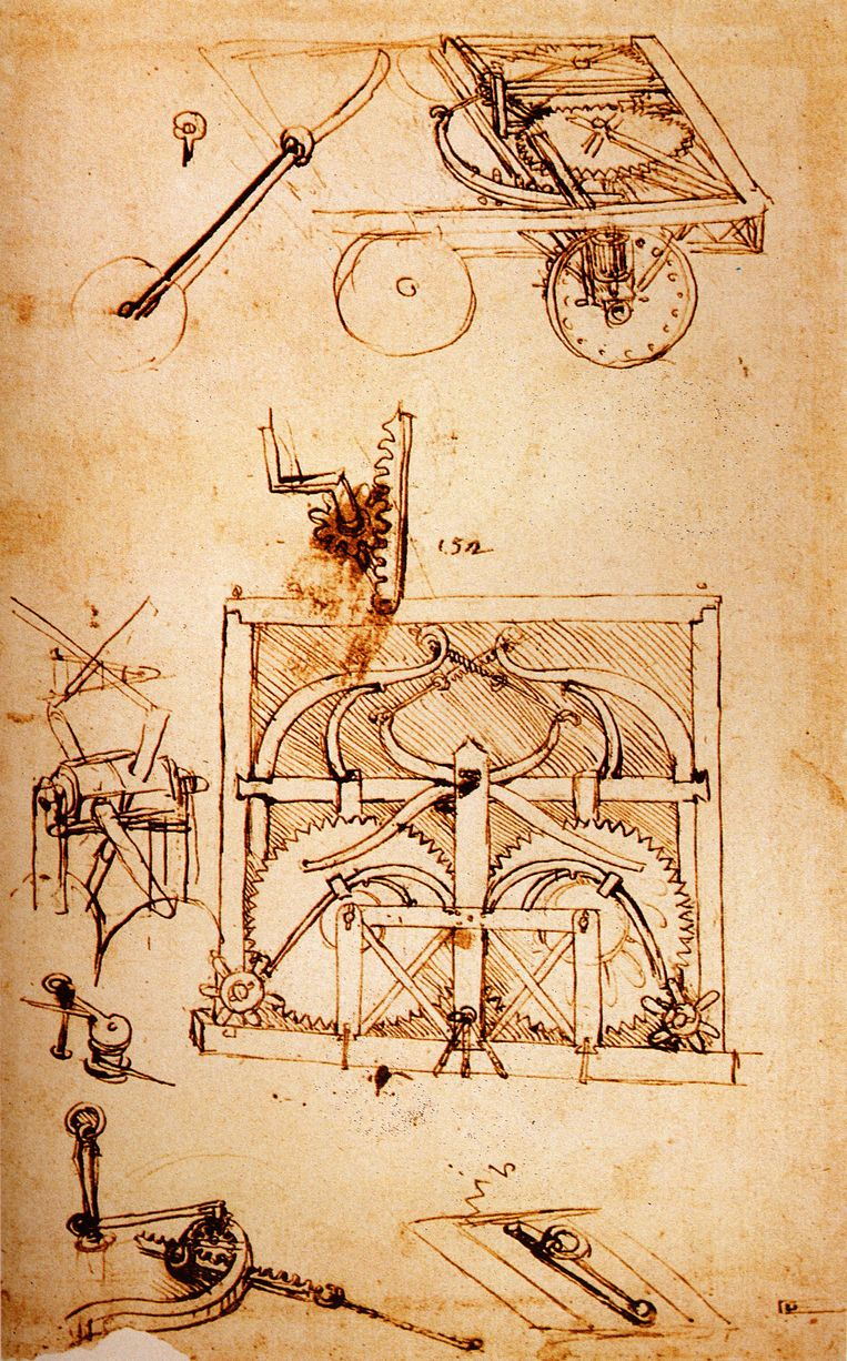 Leonardo da Vinci Design of an
