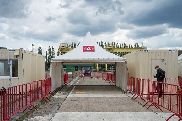 Het testdorp in Antwerpen opent morgen de deuren.