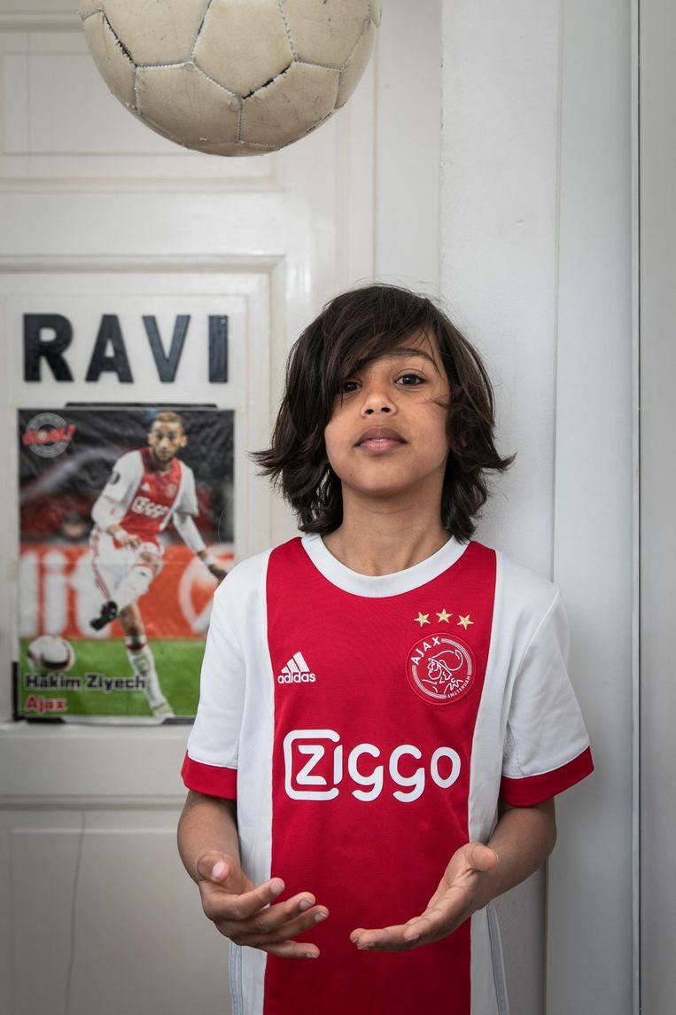 Ravi Hesselink (10) Beeld Dingena Mol