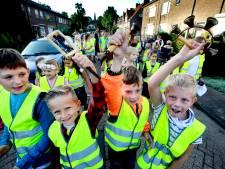Kinderen maken hels kabaal voor verkeersveiligheid