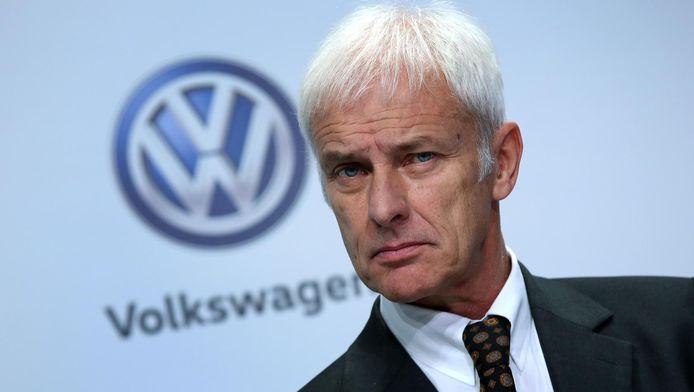 Matthias Müller, CEO Volkswagen