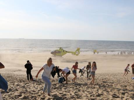 Drie zwemmers verdronken in zee bij Den Haag
