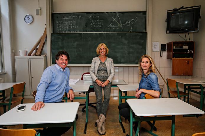 Wouter van Daalen, Nynke Gerritsma en Judith Deynen werken samen aan de eerste Vrije School voor voortgezet onderwijs in Utrecht.