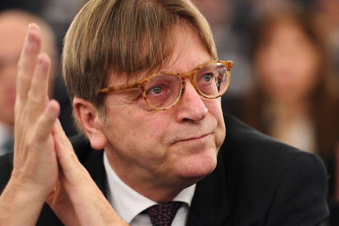 Guy Verhofstadt op archiefbeeld