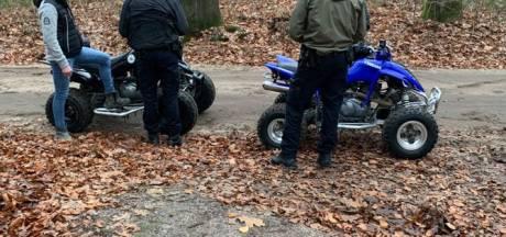 Grote controle in natuurgebied De Goudsberg bij Lunteren: negen boetes en vijf waarschuwingen
