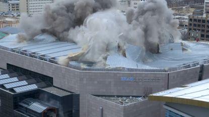 VIDEO. Dak van 30 jaar oude basketbalstadion Milwaukee ingestort