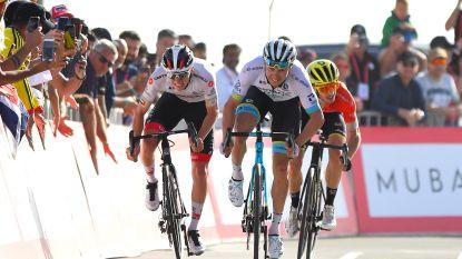 UAE Tour gestaakt wegens opduiken coronavirus, aanwezige renners individueel gecontroleerd
