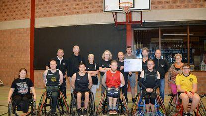 Lijnridders steunen rolstoelbasket