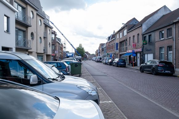 De Molenbergstraat in Rumst wordt heraangelegd