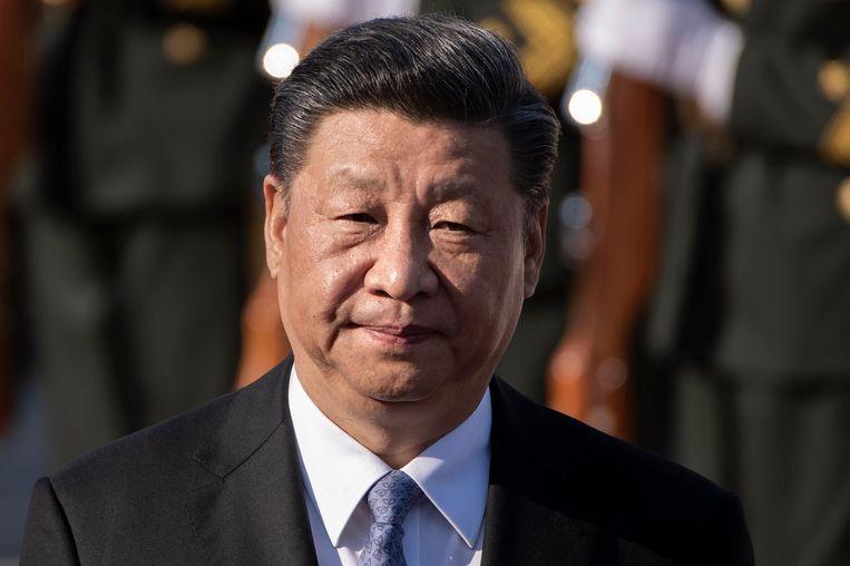 President van China, Xi Jinping. Beeld Nicolas Asfouri/AFP