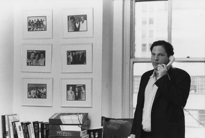 Harvey Weinstein, le 21 avril 1989.