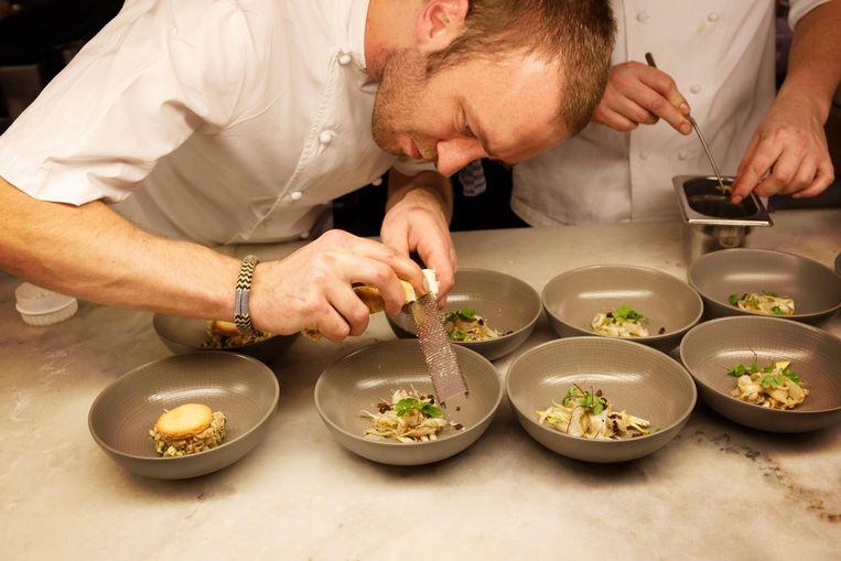 Restaurant: Kaagman & Kortekaas. Mackenzie: 'Echt, eten van wereldklasse en altijd prachtig gepresenteerd.' Beeld Hollandse Hoogte
