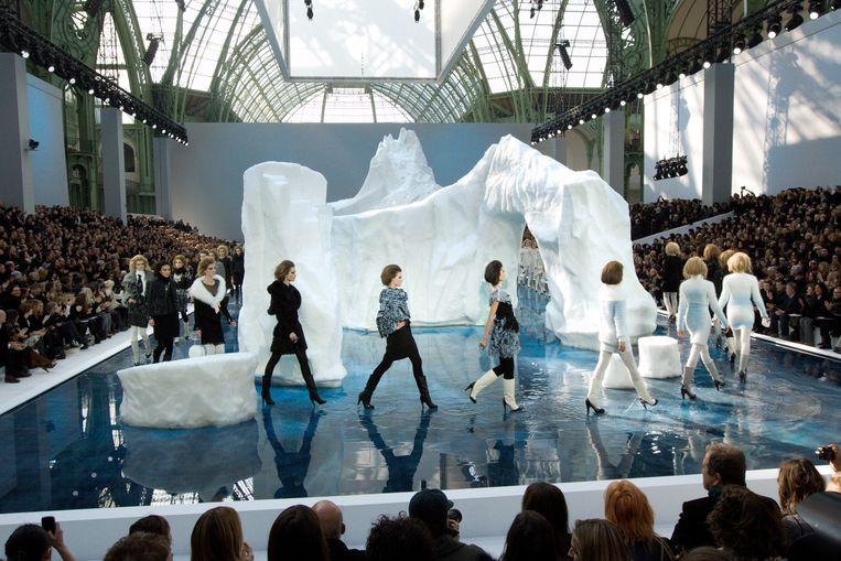 Chanel op de Paris Fashion Week in 2010.