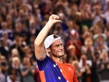 Hewitt maakt op Australian Open wederom zijn rentree