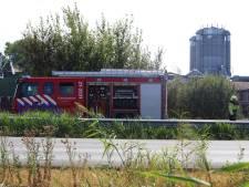 Bermbrand langs N279 tussen Middelrode en Heeswijk-Dinther