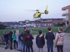 Traumahelikopter rukt uit voor medische noodsituatie in Bunschoten