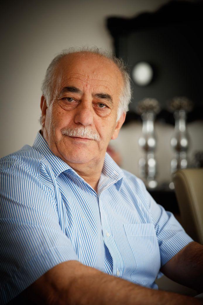 Latif Omer Mohealden is voorzitter van de Koerdische werkgroep Moerdijk.